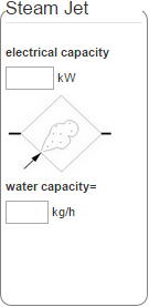 AHU psychrometric process calculator